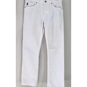 AG The Protege Straight White Jean